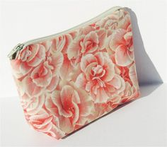 Pale Roses Zippered Pouch by PiecefulDesign on Etsy, $7.00