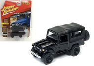 1980 Toyota Land Cruiser Black 3600 Made 1/64 Scale By Johnny Lightning JLSP004B