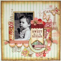 Luzma`s scrap place: SWEET LIKE SUGAR GIRL