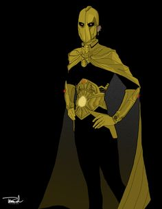Dr. Fate Redesign by tsbranch on deviantART