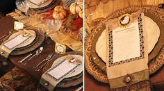 Table Top Tuesday: Fall Table Setting Ideas Week 3 Pic2