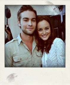 Leighton and Chase; Nate and Blair; Polaroid Perfection; Gossip Girl; #xoxo