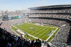 More than 68,000 fans will fill Lincoln Financial Field, home of the Philadelphia Eagles