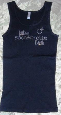 Personalized Rhinestone Bachelorette Bash by MyOneStopBlingShop, $19.95