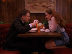Gordon Cole and Shelly Johnson on Twin Peaks