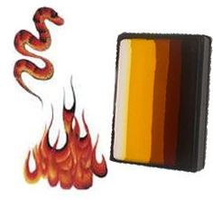 Paradise Prisma Blendset - fantastic for face painting flames or anything hot hot hot!!! :-) $13.00