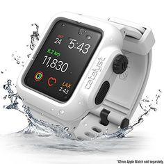 Amazon.com: Catalyst Case for Apple Watch 42mm Series 2 - WaterProof Shock Resistant (Alpine White): Cell Phones & Accessories