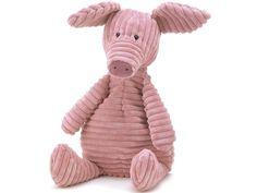 Jellycat Cordy Roy SCHWEIN small Komodo Dragon, Jellycat, Cute Pigs, Plushies, Dog Toys, Baby Shop, Flamingo, Elephant, Bunny