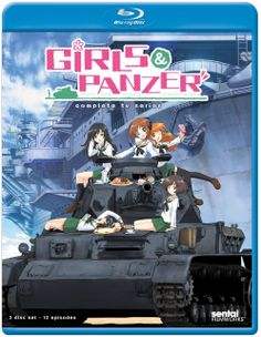 Girls Und Panzer: TV Collection (2012) ($41.99) http://www.amazon.com/exec/obidos/ASIN/B00EZ228GI/hpb2-20/ASIN/B00EZ228GI The animation of the characters is good but the combination of the excellent CGI of the tanks themselves makes it stand out. - Needless to say, I really enjoy things about tanks! - Ken-do - Way of The Sword and Sensha-dô the way of the tank.