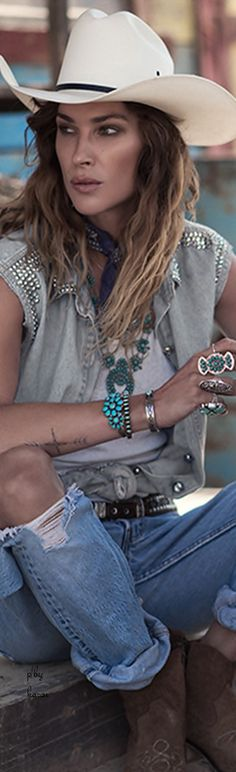 Boho Western Style...and for the latest in trending accessories, visit Designs By Maral, on etsy ...http://etsy.com/shop/designsbymaral/