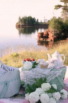 Get ready for summer - 8 shabby chic picnic ideas
