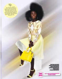 Fabulous dress featured in Mgazine! Thank you for the feature! Hello Sunshine, Yellow, People, Dresses, Dress, People Illustration, Gown, Outfits, Gowns