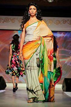 Graphic printed sarees - Satya Paul