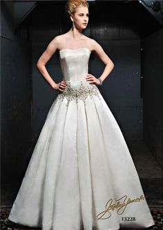 Stephen Yearick - Couture Wedding Dress Style No. 13228