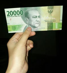 New indonesian money 😍Rp. 20.000,00