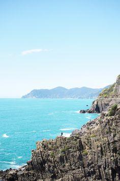 Cinque Terren infopaketti & Riomaggioren upein Airbnb-asunto!