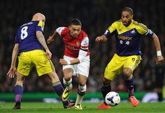 Arsenal 2 Swansea City 2 - Chambo!