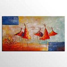 Acrylic Painting, Ballet Dancer Painting, Abstract Painting, Bedroom C – artworkcanvas Colorful Paintings, Paintings For Sale, Original Paintings, Hand Painting Art, Online Painting, Fabric Painting, Buy Art Online, Ballet, Decoration