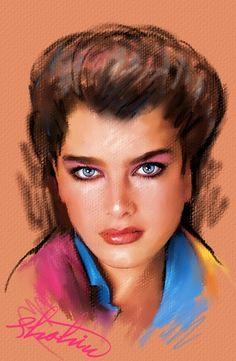 Brooke Shields by shahin