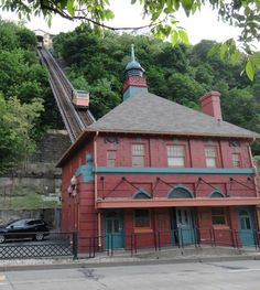 Pittsburgh's Incline is known to be  haunted by something described by witnesses as an evil presence.... So there is a reason I always feel uneasy on the incline!