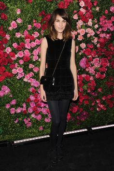 Alexa Chung at Tribeca Chanel soiree
