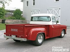 classic dodge trucks | 1957 Dodge Truck Rear Photo 4