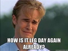 -- Especially after last nights class... Bad idea making leg day after group power.
