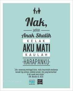 Jadilahanak shalih shalihah