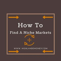 How To Find A Niche Markets. How to get ideas for websites and blog posts. Tips to help you earn money. Either business or just for products.