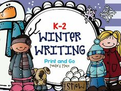 Winter Writing tasks. These contain planning sheets, writing ideas and a variety of writing pages. $