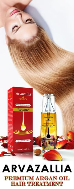 Arvazallia Premium Argan Oil Hair Treatment is Guaranteed to make your hair Look, Feel, and Smell Better than it ever has or your Money Back! Click Here Now to learn more >> http://www.arvazallia.com/premiumarganoilpinpromo