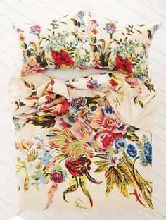 Urban Outfitters Plum & Bow Romantic Floral Scarf Duvet Cover Full / Queen, $89.00