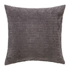 IKEA - GULLKLOCKA, Cushion cover, grey, Chenille fabric feels ultra soft against your skin. The zipper makes the cover easy to remove. Classic Cushion Covers, Large Cushion Covers, Classic Cushions, Cushion Covers Online, Modern Cushions, Throw Pillow Cases, Decorative Throw Pillows, Pillow Covers, Grey