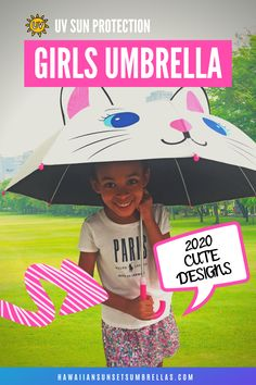 Finally, your precious little ones can have fun in the sun or the rain while also protecting their skin with these cute umbrellas for kids! UPF50 Sun protection helps keep your little ones cool when it is sunny & hot. Pongee fabric is more Eco-Friendly than the commonly used/cheap polyester used in most umbrellas. UV Umbrellas for Kids and women! #kids umbrella #umbrella photography #umbrellakids #kids photography #girlsumbrella #boysumbrella #umbrella kids #uvumbrella #uvprotection Uv Umbrella, Compact Umbrella, Kids Umbrellas, Umbrella Photography, Hawaiian Sunset, Sun Protection, Your Child, Cute Kids, Little Ones