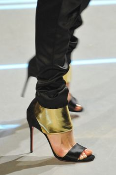 Christian Louboutin at Alexandre Vauthier | SS 2013