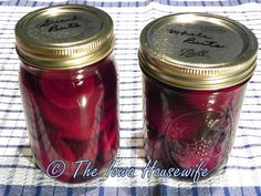 From the Garden...Home Canned Beets