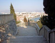 Split, view from Marjan Hill ..Pogled s Marjana