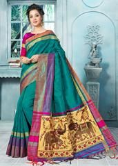 Buy unique collection of designer saree. Buy this modernistic weaving work traditional designer saree for festival and party. Lehenga Saree, Bollywood Saree, Saree Blouse, Sari, Blouse Styles, Blouse Designs, Stylish Sarees, Casual Saree, Art Silk Sarees
