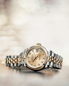 Oyster Perpetual Lady-Datejust. Prestige and elegance. #Rolex #LadyDatejust #101031