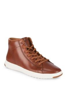 86d434036418b COLE HAAN Grandpro Leather Hi-Top Sneakers.  colehaan  shoes