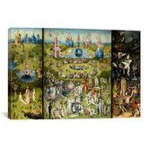 Found it at Wayfair - 'The Garden of Earthly Delights 1504' by Hieronymus Bosch Painting Print on Canvas