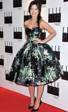 Daisy Lowe in Dolce and Gabbana