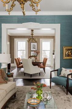 Jamaica Pond eclectic, Boston. Terrat Elms Interior Design.