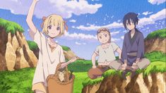 Análise / Crítica /Resenha do anime Kujira no Kora wa Sajou ni Utau (Children of the Whales)