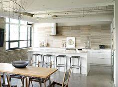 Banquetas podem dar o novo estilo a sua cozinha.