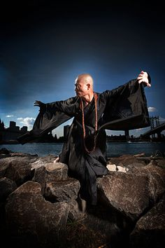 Sifu Shi Yan Ming, Shaolin Warrior Monk. The man is practically superhuman.