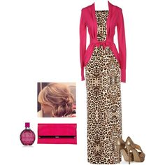 """Pink & Exotic"" by jvs8384 on Polyvore"