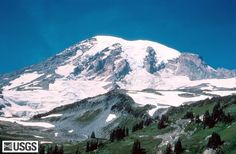 Mt. Rainier, Washington State.  I don't know if you can hike this, but if you can... i want to hike it