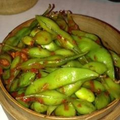 Chilli Edamame - healthy option to start your meal!