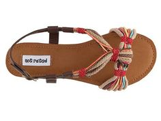 Raggy doll sandals